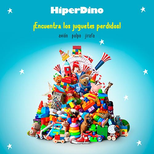 Hiperdino - Gestión RRSS - Plantilla Juego