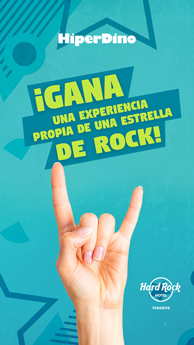 Hiperdino - Gestión RRSS - Stories Concurso Hard Rock