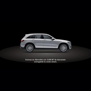 Mercedes for Grupo Rahn Branding Campaign